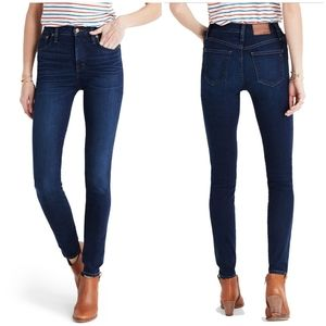 """MADEWELL // 9"""" High Rise Skinny Jeans Size 27"""